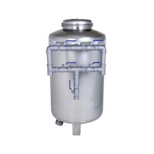 Filtro Retrolavável Industrial Capacidade 4m3 a 8 m3